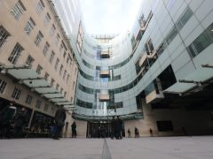 The BBC has unveiled its annual plan (Aaron Chown/PA)