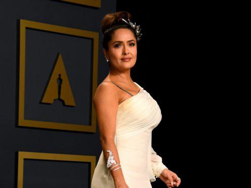 Salma Hayek is on the Sunday Times Rich List (Jennifer Graylock/PA)