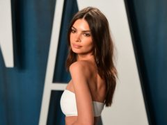 Emily Ratajkowski found fame after starring in the video for Blurred Lines (Ian West/PA)
