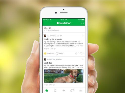 Nextdoor has seen a 91% increase in engagement early in the year (Nextdoor)