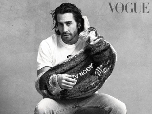 Jake Gyllenhaal in British Vogue (British Vogue/Christian MacDonald/PA)