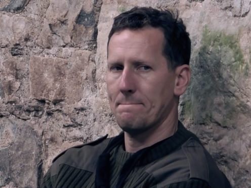 Brendan Cole is given his marching orders from Celebrity SAS: Who Dares Wins (Channel 4/PA)