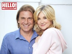 Anthea Turner was due to marry Mark Armstrong this year (Hello! magazine/PA)