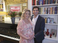 Nataliae and Zafar Rushdie (Hello! magazine/PA)