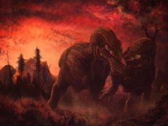 Tyrannosaurus rex dinosaurs (Mark Witton)
