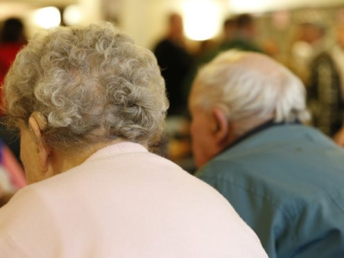 The research team analysed data gathered from more than 6,500 people who were part of the English Longitudinal Study of Ageing (Jonathan Brady/PA)