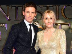 Eddie Redmayne stars in JK Rowling's Fantastic Beasts films (Ian West/PA)