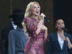 Kylie Minogue performed at Glastonbury last year (Yui Mok/PA)