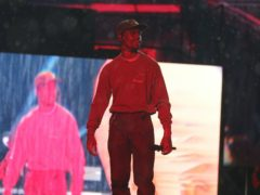 Travis Scott was due to headline the Coachella music festival, which has been cancelled due to the coronavirus pandemic (Isabel Infantes/PA)