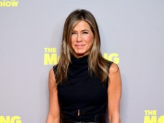 Jennifer Aniston has urged fans to wear a mask to halt the spread of coronavirus (Ian West/PA)