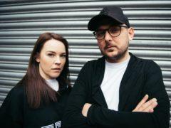 Chris 'Bronski' Jablonski and Amber Rimell (Andrew Timms/PA)