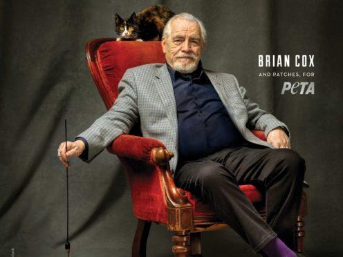 Brian Cox for Peta (Peta/PA)