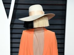 """Singer Sia joked she was """"horrified"""" at becoming a grandmother aged 44 (PA)"""