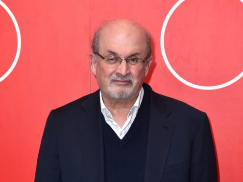 Sir Salman Rushdie said he watched reality TV as research for his book Quichotte (PA)