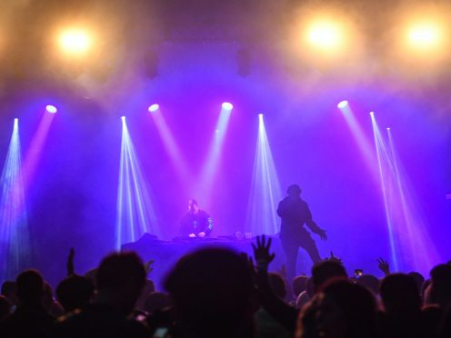 The noise at most amplified concerts exceeds 100 decibels (Jacob King/PA)