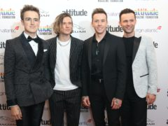 "Chart-topping band McFly were left ""broken"" after drifting apart for four years, drummer Harry Judd said (Matt Alexander/PA Wire)"