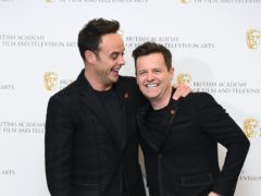 Anthony McPartlin and Declan Donnelly host I'm A Celebrity (Ian West/PA)