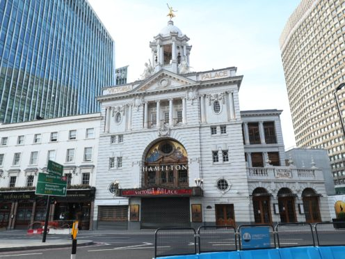 The Victoria Palace Theatre could potentially reopen on August 1(Yui Mok/PA)