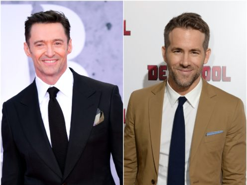 Hugh Jackman joked his Emmy nomination had left Ryan Reynolds 'devastated' (Ian West/PA)
