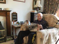 Patricia's husband Bill (Age UK/PA)