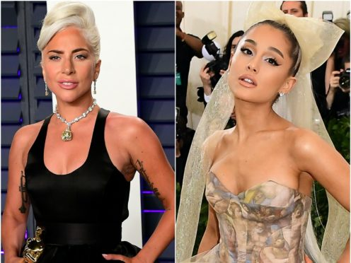 """Lady Gaga and Ariana Grande said they are """"so grateful"""" after scoring a joint-most nine nominations ahead of the MTV Video Music Awards (Ian West/PA)"""