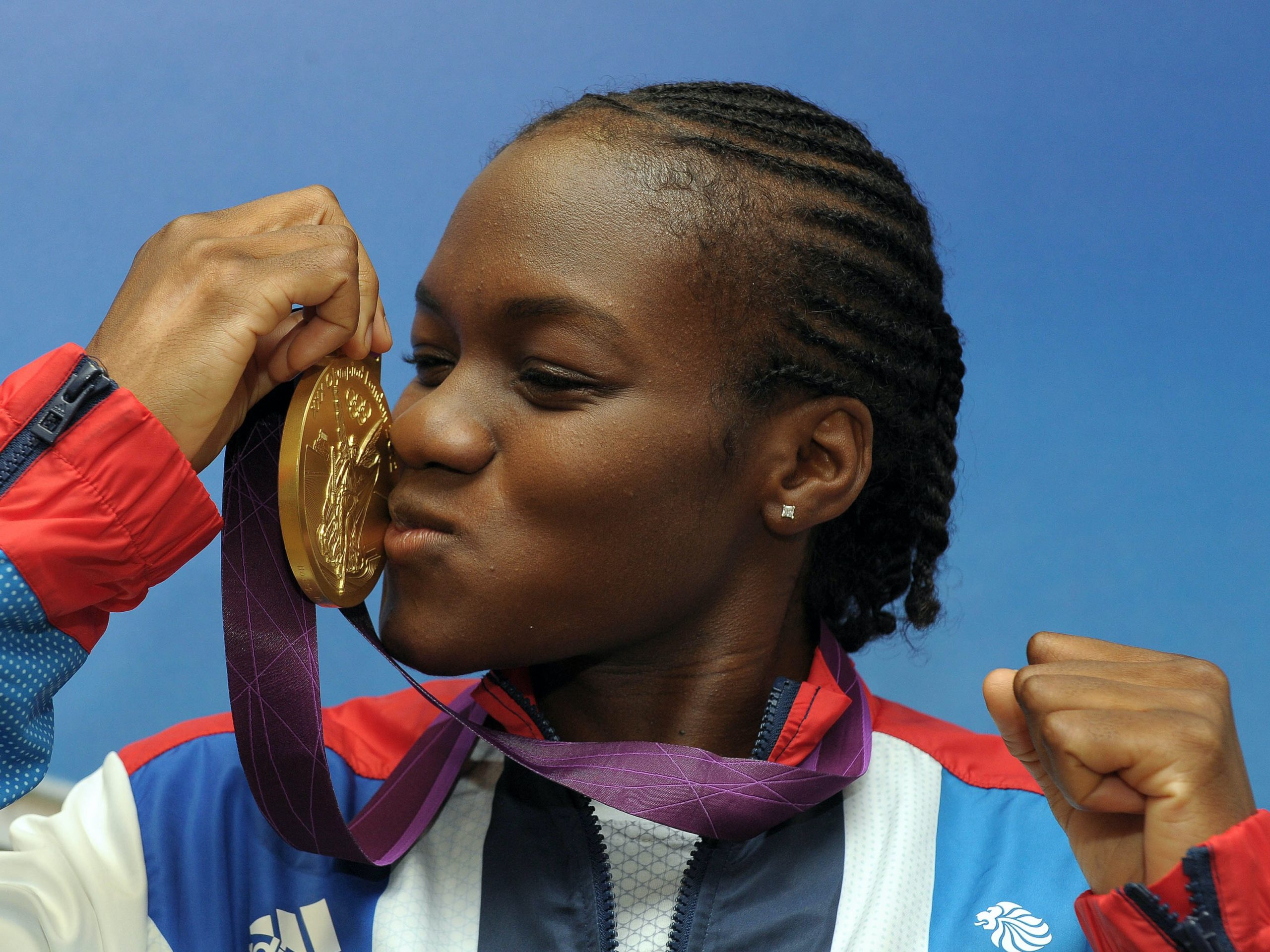 Picture of the day – Nicola Adams is British boxing's golden girl at London 2012 - Evening Express