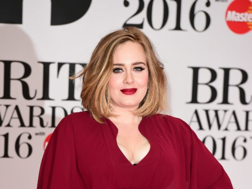 Adele has been accused of cultural appropriation after sharing an Instagram picture showing her wearing a traditional African hairstyle (Ian West/PA Wire)