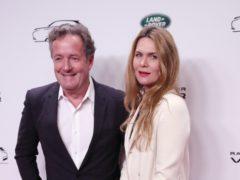Piers Morgan and Celia Walden (Jonathan Brady/PA)