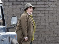 Actress Brenda Blethyn playing DCI Vera Stanhope (Owen Humphreys/PA)