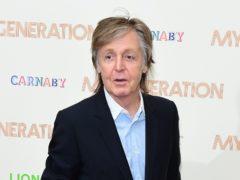 Sir Paul McCartney spoke of a feud with John Lennon (Ian West/PA)