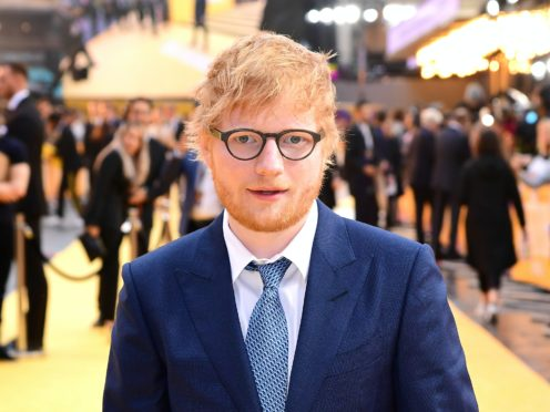 Ed Sheeran attending the Yesterday UK Premiere (Ian West/PA)