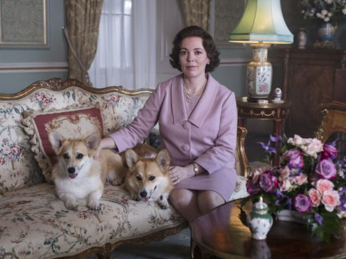 Olivia Colman stars as the Queen in Netflix's The Crown, which is among the nominees ahead of the Edinburgh TV Festival Awards (Netflix/PA)