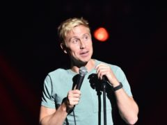 Comedian Russell Howard said he 'probably did the right thing' in walking off stage mid-set after a woman in the crowd started filming him (PA)