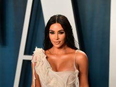 Kim Kardashian West has announced the family's long-running reality TV show will end after a final season next year (Ian West/PA)