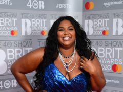 Grammy-winning singer Lizzo said the body positivity movement has become 'commercialised' as she questioned who is now benefitting from it (Ian West/PA)