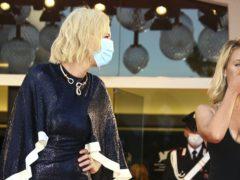 Jury members Cate Blanchett and Ludivine Sagnier (C Ryan/Invision/AP)