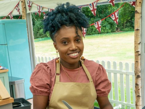 Loriea in the first episode of The Great British Bake Off (C4/Love Productions/Mark Bourdillon/PA)