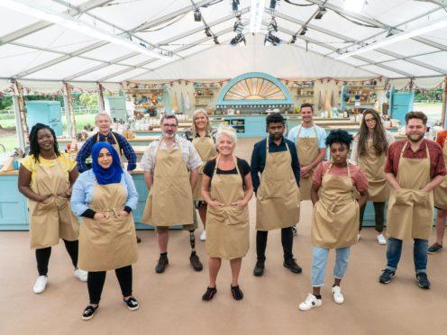 The Bake Off contestants (C4/Love Productions/Mark Bourdillon/PA)