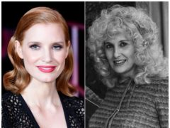 Oscar-nominated actress Jessica Chastain will play country music singer Tammy Wynette in a TV biopic (Ian West/PA)