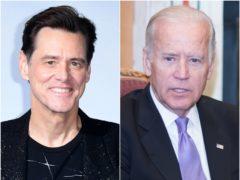 Jim Carrey will play US presidential hopeful Joe Biden on Saturday Night Live (Ian West/Barry Cronin/PA)