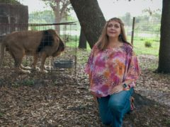 Carole Baskin in Tiger King (Netflix/PA)