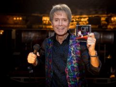 Sir Cliff Richard in the empty Haymarket Theatre, London (Guy Levy/PA)