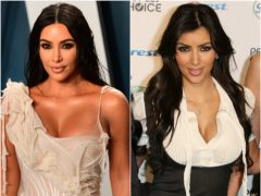 Kim Kardashian West has become one of the most famous people on the planet since the start of her family's reality TV show (Ian West/PA)