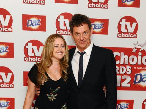 Matthew Wright and wife Amelia (Ian West/PA)