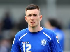 Matt Lund scored twice for Rochdale (Dave Howarth/PA)