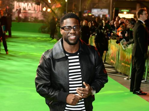 Kevin Hart and his wife Eniko Parrish have welcomed their second child together (Ian West/PA)