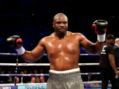 Dereck Chisora is back in action on Saturday night (Steven Paston/PA)