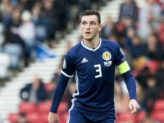 Andy Robertson has backed the Street Soccer Scotland initiative (Jeff Holmes/PA)