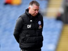 Darren Ferguson was impressed by the character shown by his players (Anthony Devlin/PA)