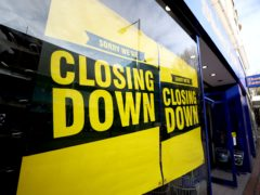 Shoe Zone has already closed 40 stores in the last 12 months (Tim Goode/PA)